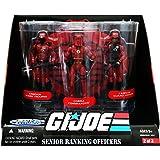 G.I. Joe 25th Anniversary: Senior Ranking Officers Action Figure 3-Pack: Cobra Commander, Crimson Guard Officer & Crimson Gua