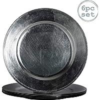 Argon Tableware Cargador redonda debajo de las placas