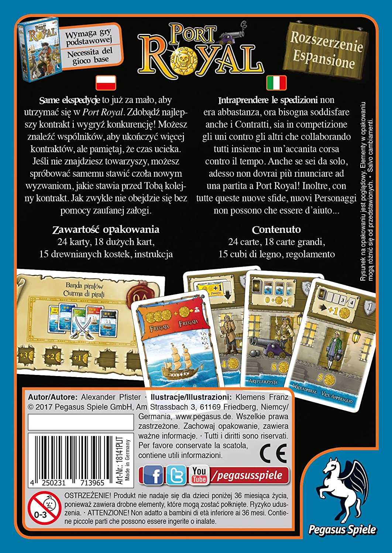 Pegasus Juegos 18141plit – Juego de Cartas Port Royal: rozszer zenie/espansione: Amazon.es: Juguetes y juegos