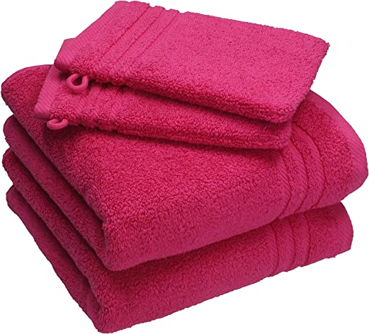 Betz 4 piezas Juego de toallas de mano (100% algodón, 2 macho ...