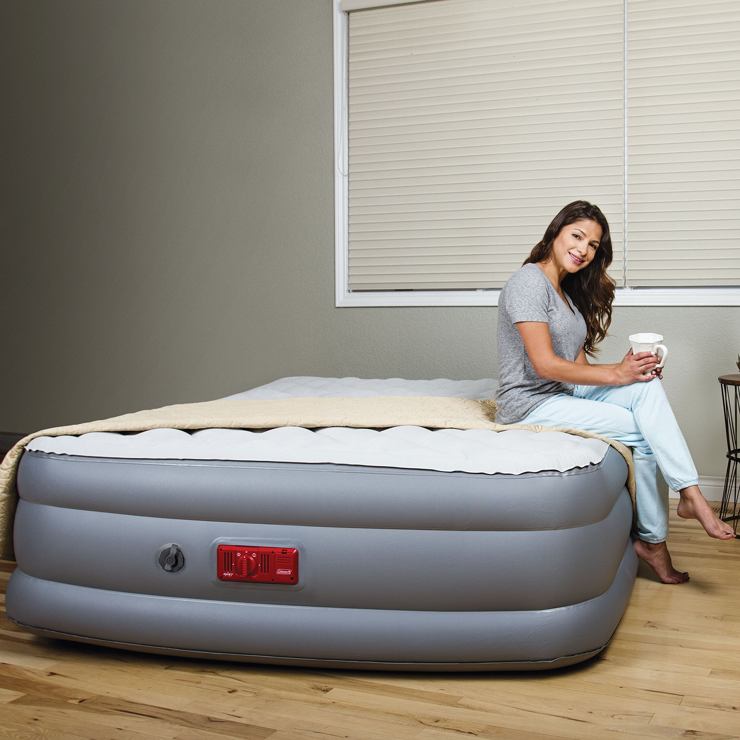 Coleman SupportRest Elite Pillow Top Double Queen High Airbed by Coleman (Image #9)