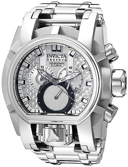 Invicta 25208 - Reloj de Pulsera Hombre, Acero Inoxidable, Color Plata: Amazon.es: Relojes