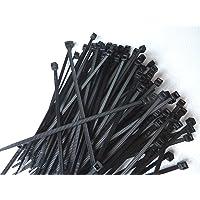 WKK kabelband svart, 100 x 2,5 mm, 100 stycken