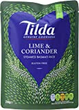 Tilda Steamed Lime and Coriander Basmati Rice, 250g