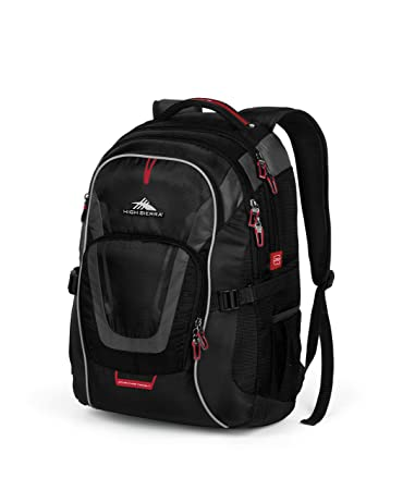 Amazoncom High Sierra AT7 Outdoor Backpack Black Sports Outdoors