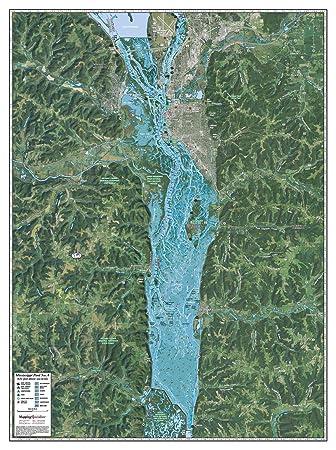 Amazon.com: Mapeo especialistas Mississippi River piscina 8 ...