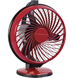 Luminous Multipurpose Buddy 230mm Cabin Fan (Cherry Red)