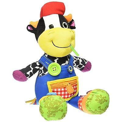 Lamaze 27402 - Muñeco Fred, el granjero para bebés [importado de Alemania]: Juguetes y juegos