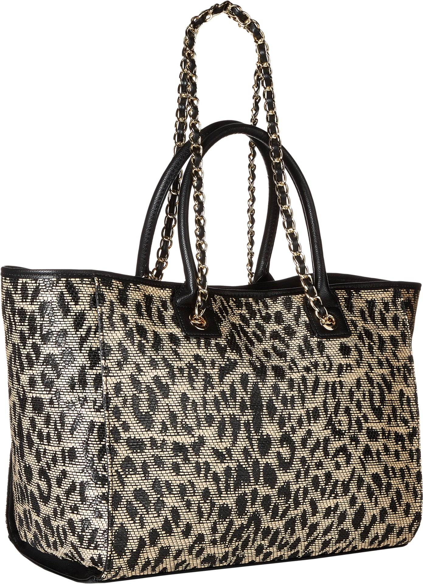 Betsey Johnson Mighty Jungle Large Tote, Leopard by Betsey Johnson (Image #1)
