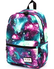 HotStyle TrendyMax Womens School Boys Girls Galaxy Patterned 600D Polyester Backpack
