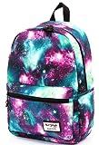 TrendyMax Galaxy School Bag Backpack | Holds 15.4-inch Laptop | 42x30x16cm | Green