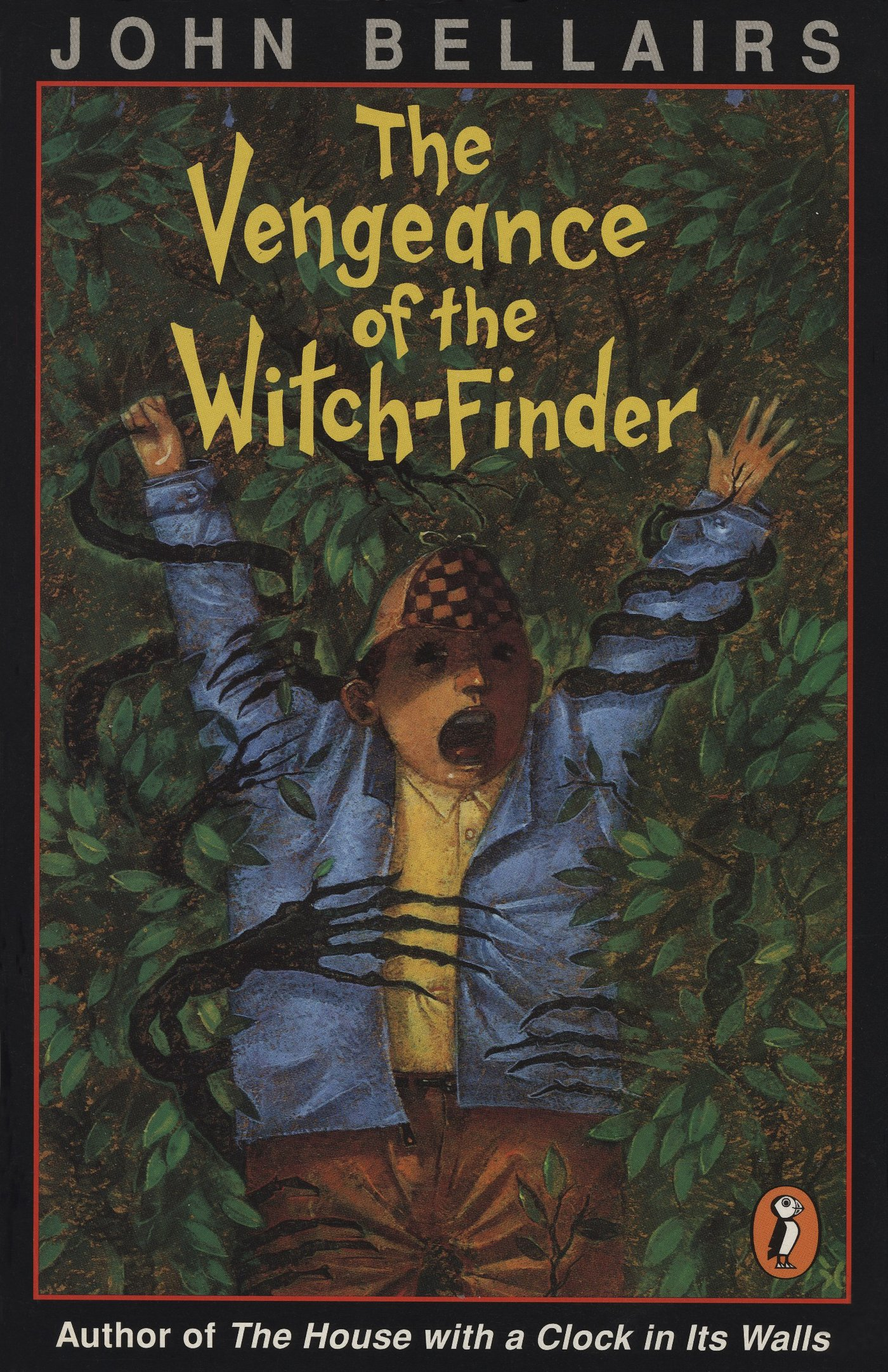 The Vengeance of the WitchFinder John Bellairs Brad Strickland