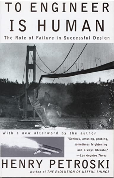 To err is human: why failure is the only way to succeed as a