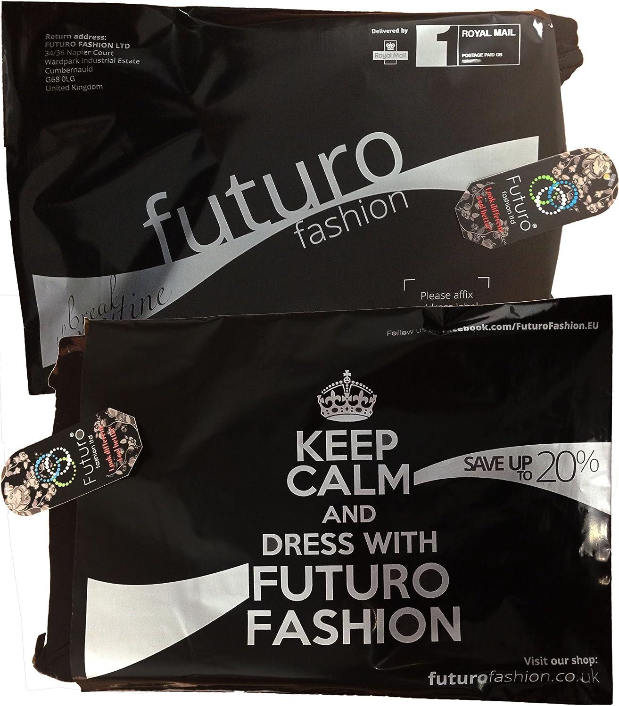 Leggings a 3//4 in Cotone con Pizzo FUTURO FASHION/® Tutti i Colori e Taglie Disponibili