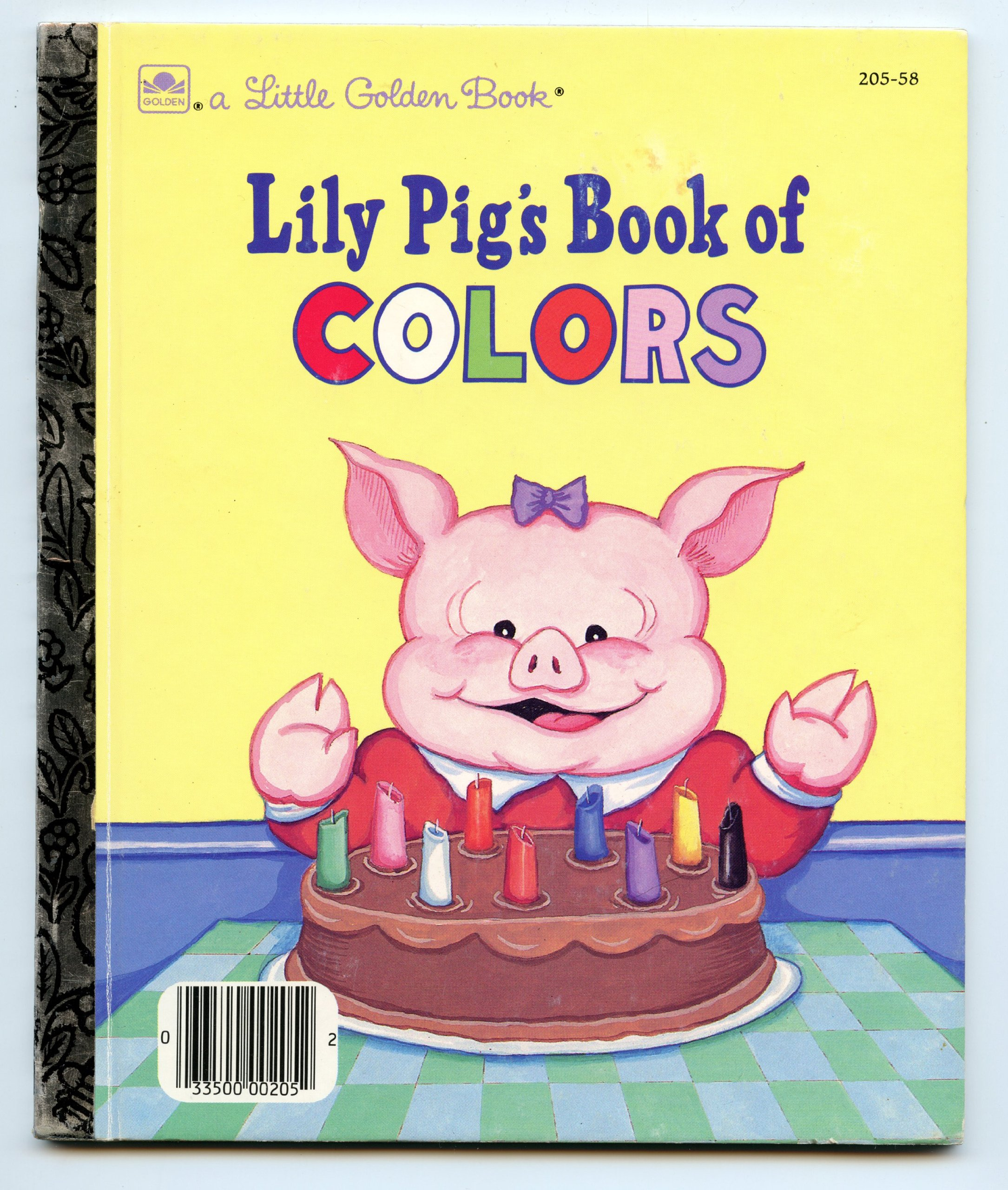 Lily Pig\'s book of colors (A Little golden book): Amye Rosenberg ...