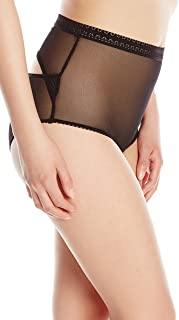 product image for Between The Sheets Women's Airplay Mesh High Waist Panty