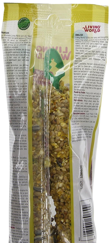 Amazon.com : Living World Hamster Honey Treat Sticks, 4-Ounce : Edible Pet Treats : Pet Supplies