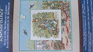 Peter In Mr. McGregor's Garden Counted Cross Stitch Kit by Beatrix Potter