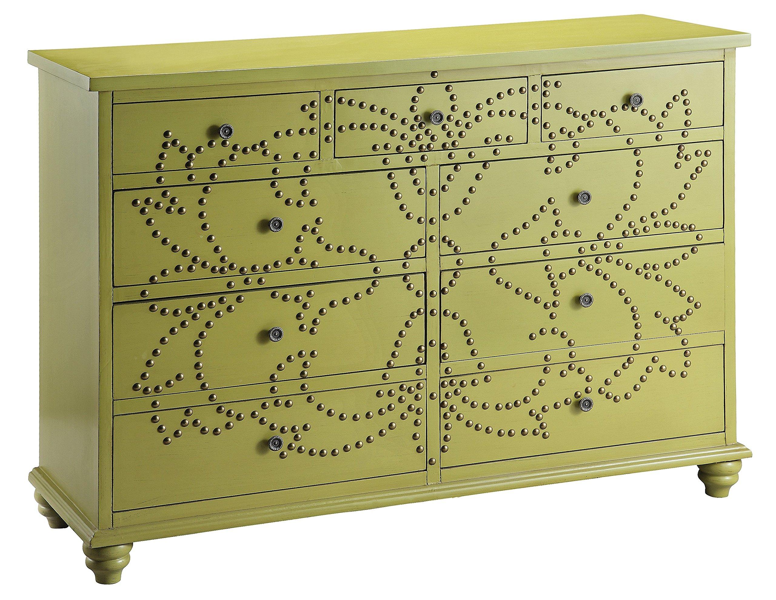 Stein World Furniture Ian Accent Chest, Light Green