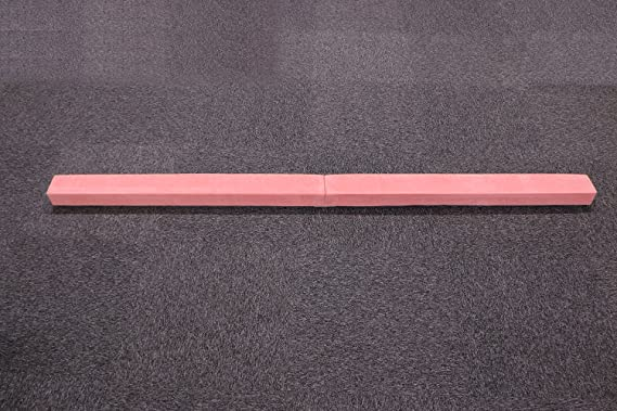 Sliverylake 7ft Junior Gymnastics Gym Home Foam Balance Beam Training Folding Kids Training Low Floor Beam
