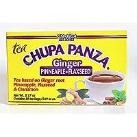 Tea CHUPA Panza, Tea Based ONGINGER Root, PINNEAPPLE, Flaxseed & Cinnamon (30 Tea Bags/0.10 oz Each)