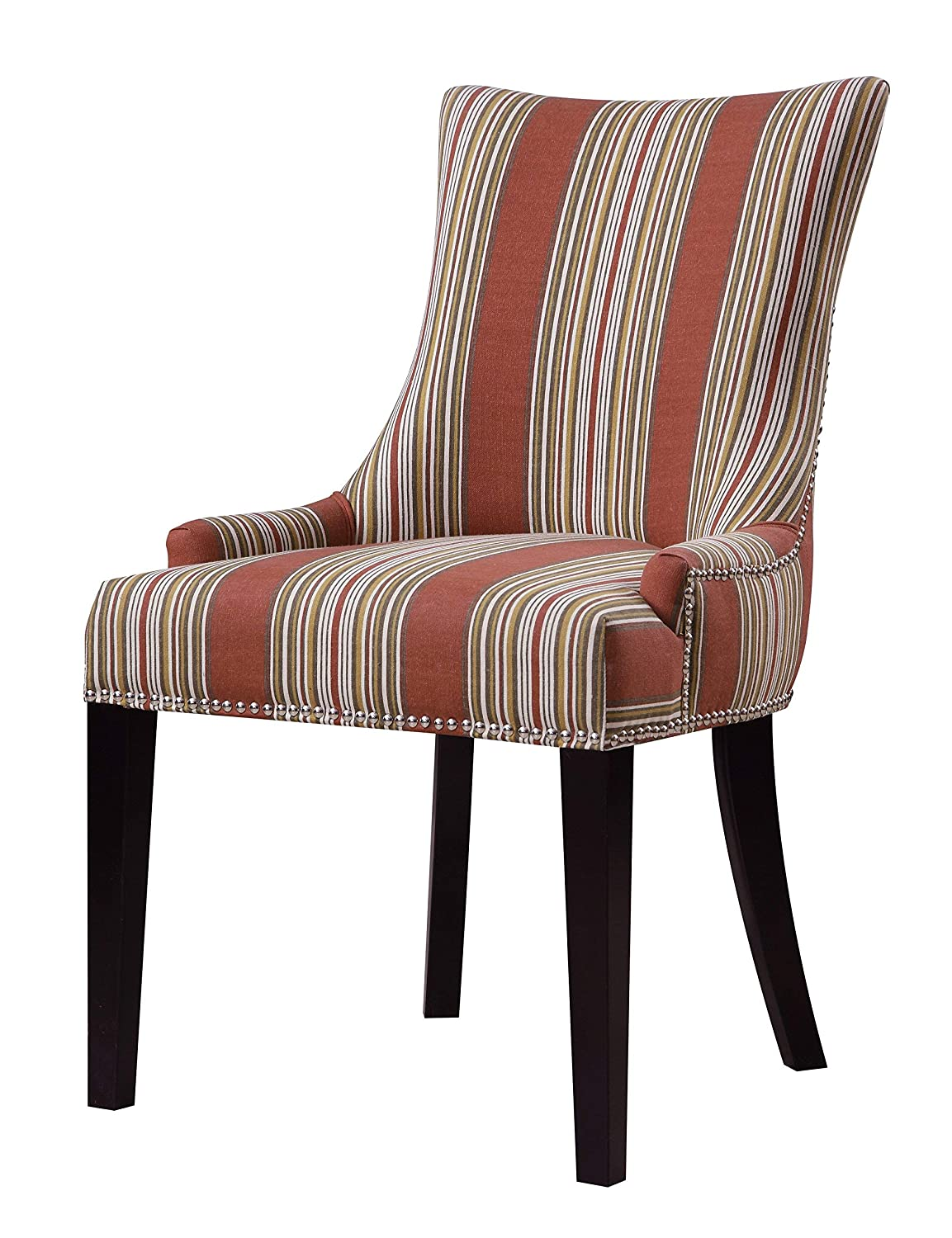 Navy 23.03 X 25.2 X 33.86 Pulaski DS-2520-900-393 Urban Accents Button Back Upholstered Dining Chair