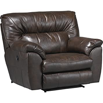 Catnapper Nolan Leather Cuddler Recliner In Goa  sc 1 st  Amazon.com : catnapper nolan sectional - Sectionals, Sofas & Couches