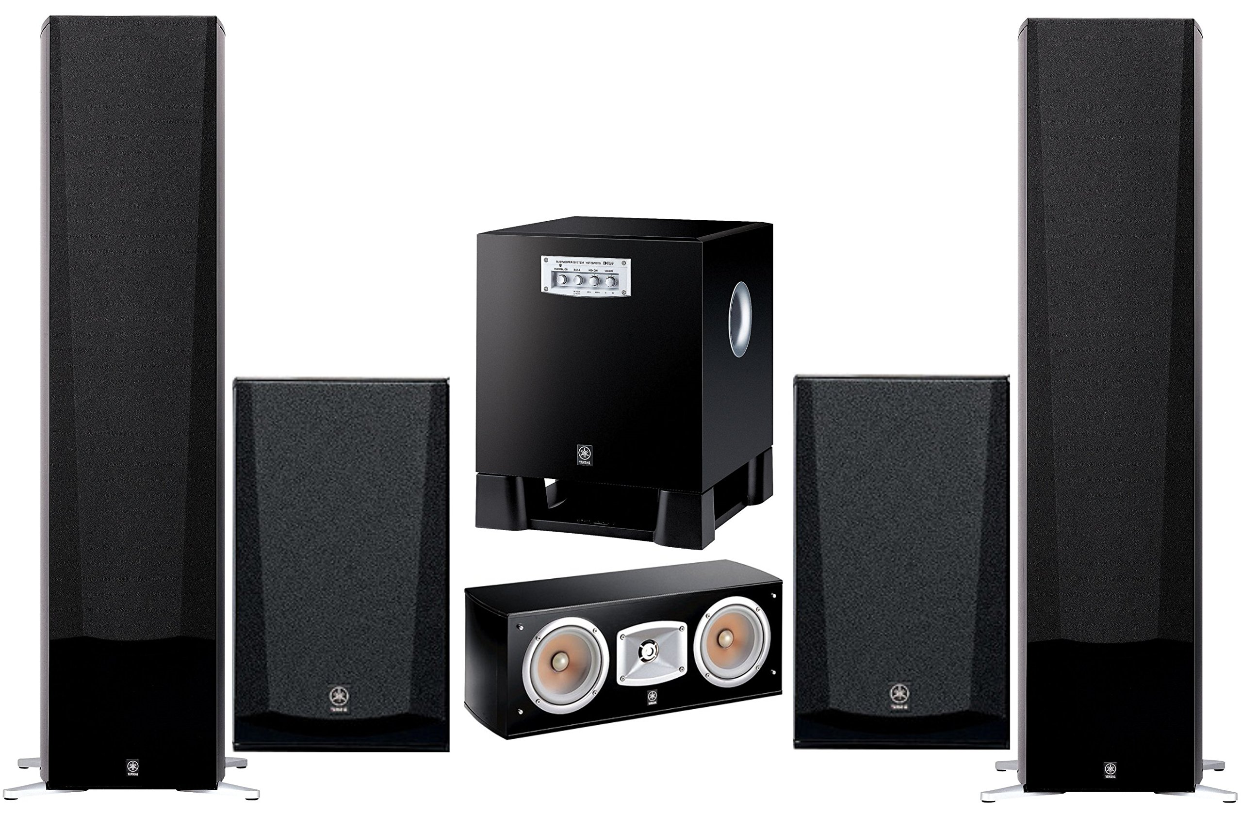 Yamaha 3D Surround Sound Multimedia Home Theater Speaker System by Yamaha