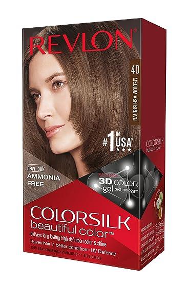 Phenomenal Amazon Com Revlon Colorsilk Haircolor Medium Ash Brown 10 Short Hairstyles Gunalazisus