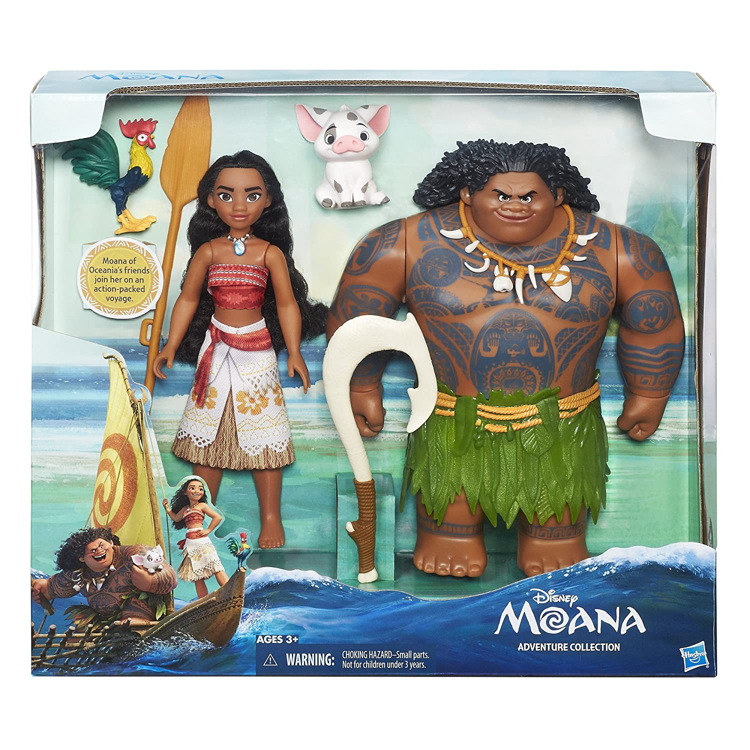Amazon Disney Moana Adventure Collection Toys & Games
