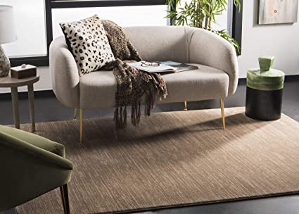 e3315053787 Image Unavailable. Image not available for. Color  Safavieh Vision  Collection VSN606C Light Brown Area Rug ...