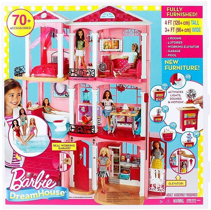 Barbie Dreamhouse, casa de muñecas (Mattel FFY84)