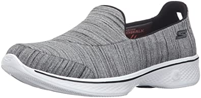 9a9f24676109 Skechers Women s Go Walk 4-Satisfy Trainers  Amazon.co.uk  Shoes   Bags