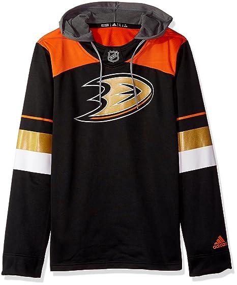 863dbe6363 adidas NHL Mens Silver Jersey Hood