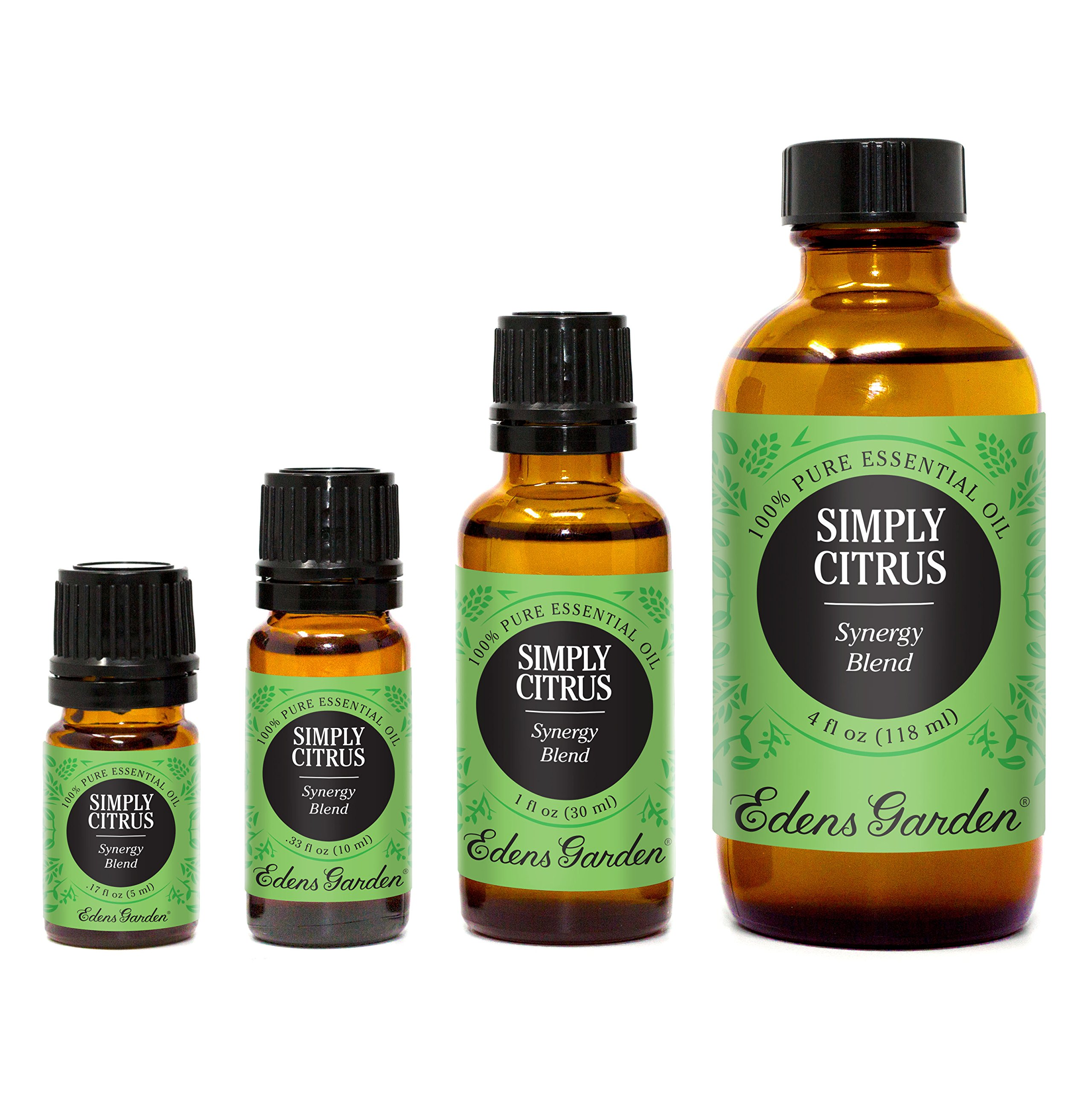 Edens Garden Simply Citrus Synergy Blend Essential Oil, 30 mL