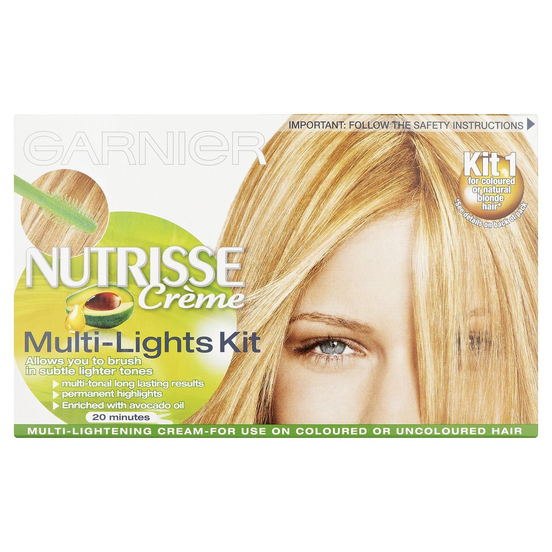 Garnier Nutrisse Highlights Multi Lights Permanent Amazon Beauty