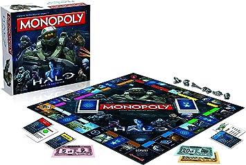 Winning Moves - Monopoly HALO JEU DE Societe /6: Amazon.es: Juguetes y juegos