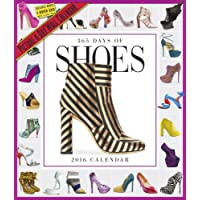 365 Days of Shoes Picture-A-Day Wall Calendar 2016