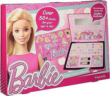 Barbie- portátil con maquillaje infanti (Markwins 9611310): Amazon.es: Juguetes y juegos