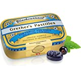 GRETHER'S PASTILLES BLACK CURRANT REGULAR 110G/3.75 OZ