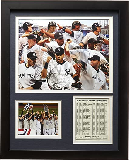 11x14-Inch Legends Never Die 1927 New York Yankees Framed Photo Collage