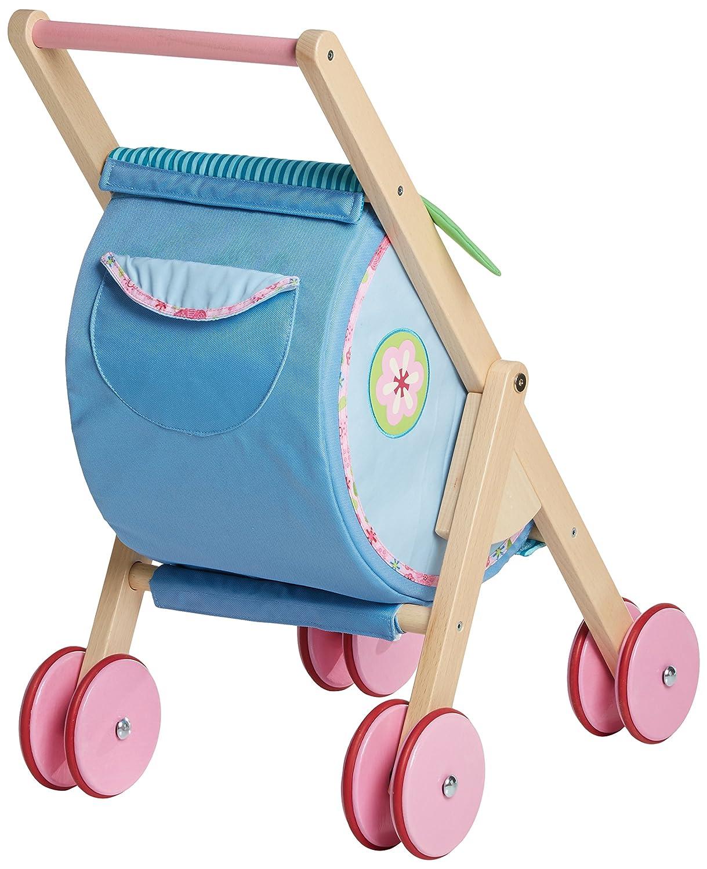 Pferd mit Karre Wagen Holz Ziehspielzeug Holzspielzeug NEU Bauernhof