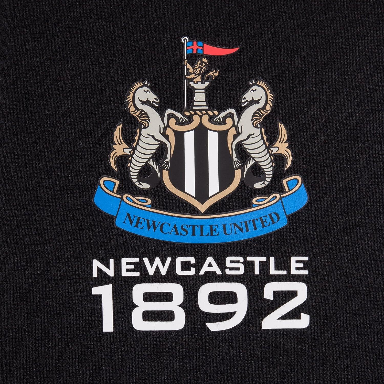 Newcastle United FC Official Football Gift Boys Fleece Zip Hoody