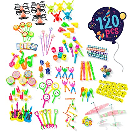 Birthday Party Favors For Kids Pack Of 120 Pcs