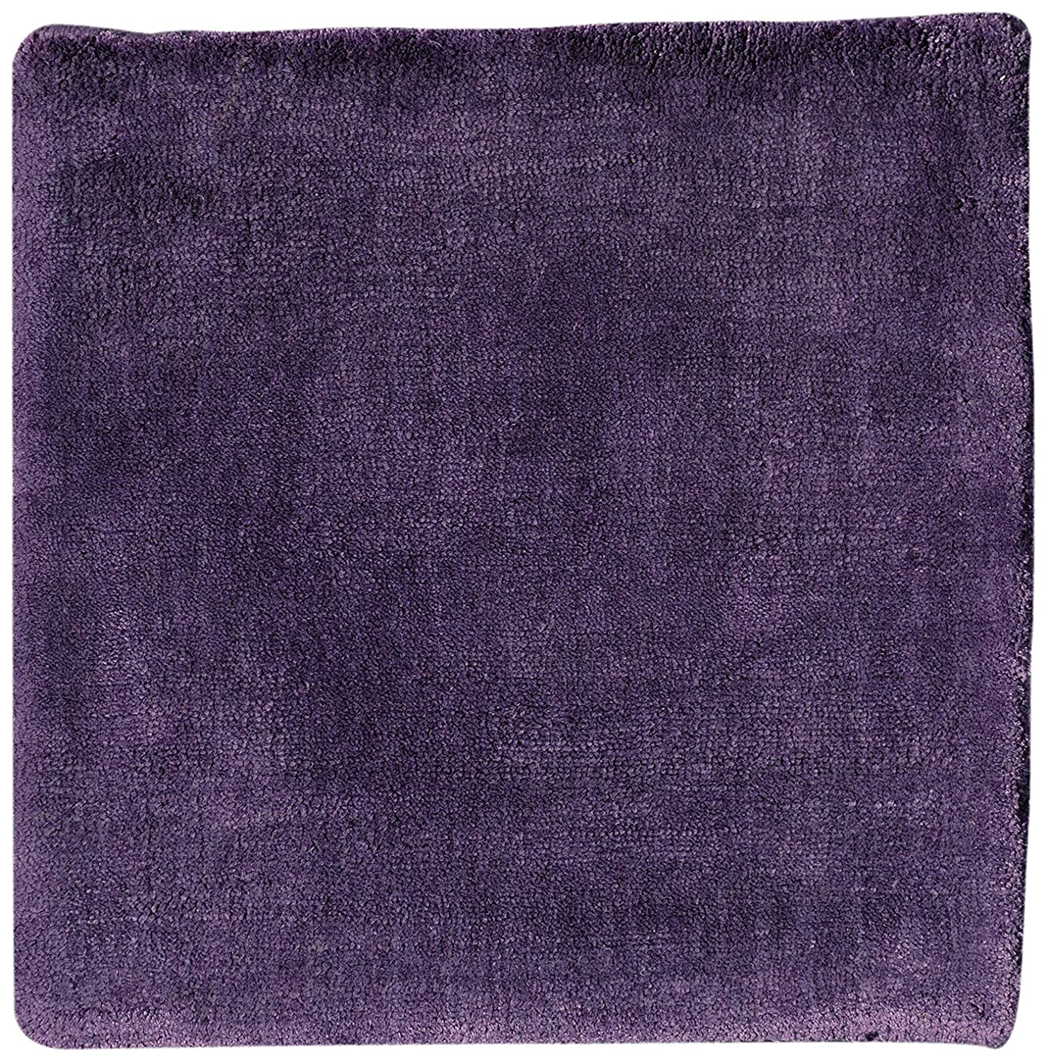 Toulemonde bochart Collection linea Modell Diams Teppich Viskose Aubergine 300 x 200 cm