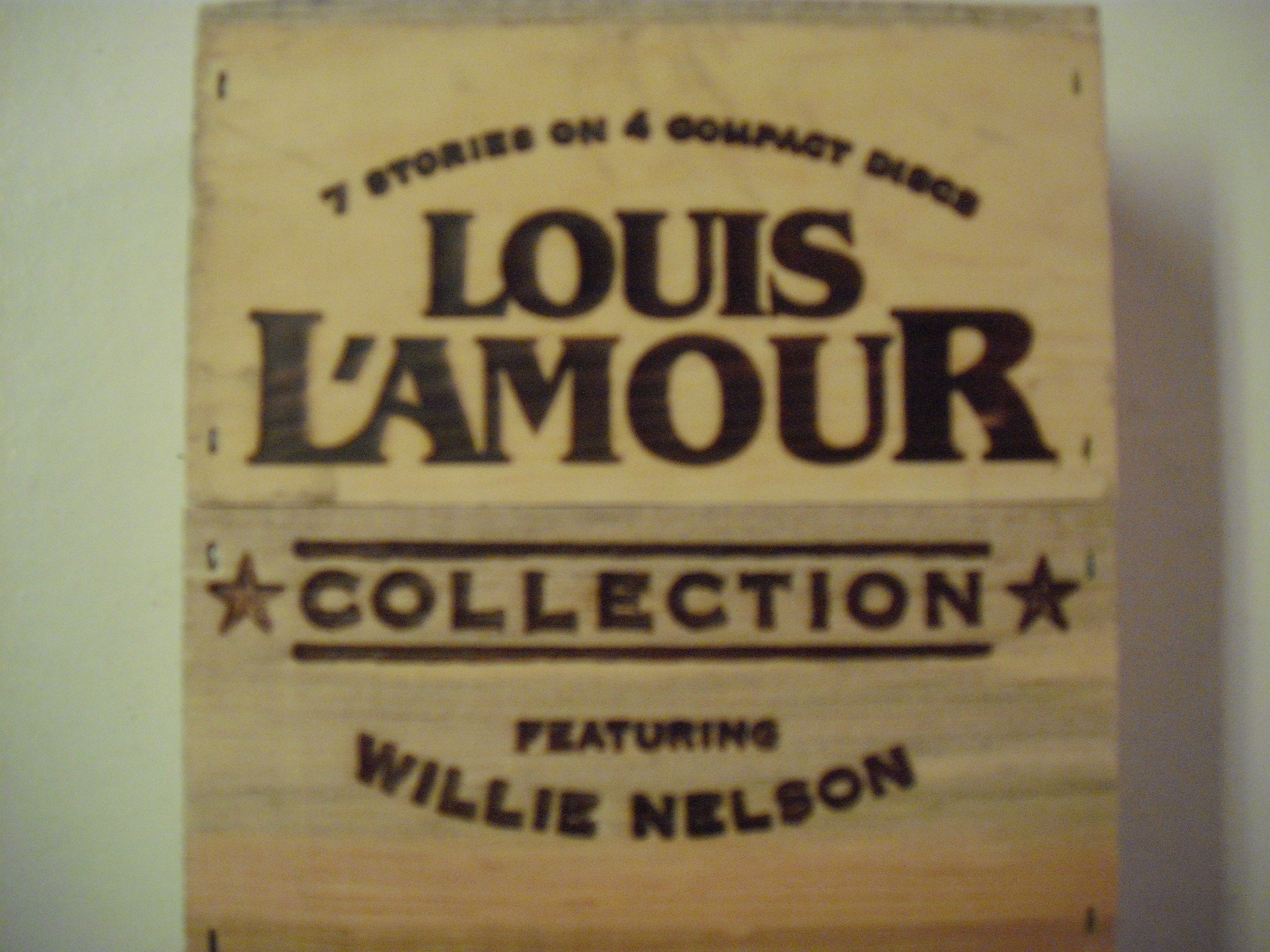 The Louis L'Amour Collection - Featuring Willie Nelson - (In Collectible Wooden Box) by HighBridge
