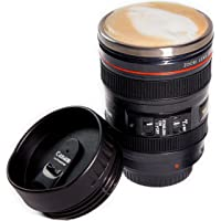 Camera Lens Coffee Mug Best Photographer Gift Ideal for Travel Authentic Replica of the Canon 24-105mm Lens (Mug Only)
