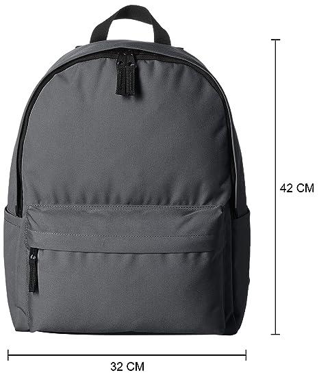 88d7f6606a AmazonBasics Classic School Backpack - Grey: Amazon.ae