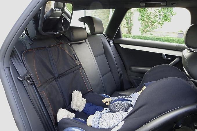 Kindersitz Unterlage Auto Rutschfester Sitzschutz Im Pkw Premium Qualität Universell Geeignet Unterstützt Isofix Enthält 2 Aufbewahrungstaschen Travaligo Elektronik
