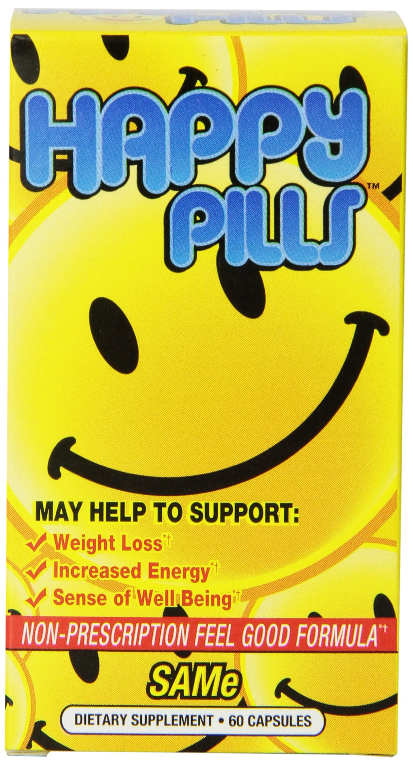 Brain Pharma Happy Pills, 60 Count